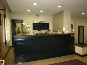The lobby or reception area at Hotel Ibiltze