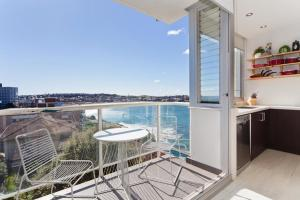 A balcony or terrace at Panoramic Views of Bondi Beach BB24