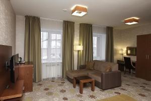 Гостиная зона в Гостиница Бон Апарт