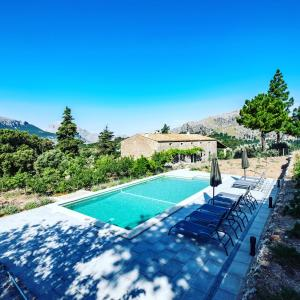 The swimming pool at or near Agroturismo Son Alzines