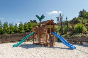 Children's play area at Hotel Leyla
