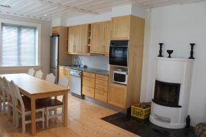 Kjøkken eller kjøkkenkrok på Elton Hotel