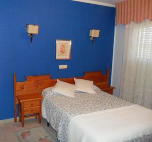 Cama o camas de una habitación en Hotel Vimar