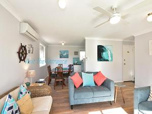 A seating area at The Nautical House