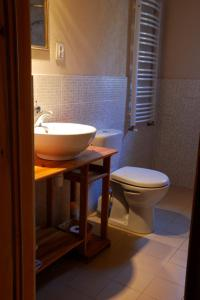 Łazienka w obiekcie Noclegi nad Pośną