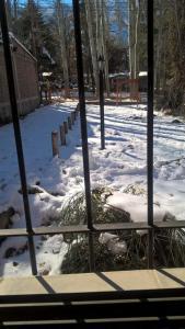 Cabañas Meralai during the winter