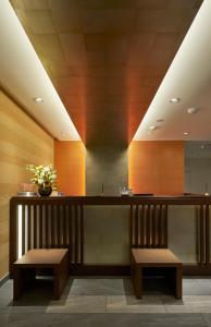 京都城四條大宮酒店大廳或接待區