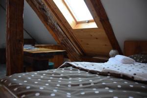 Krevet ili kreveti u jedinici u objektu Guesthouse Kranjac