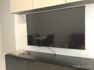 Телевизор и/или развлекательный центр в Apartment Vinograd