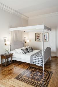 Cama o camas de una habitación en Parador de Baiona