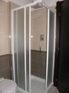 A bathroom at Hotel I Crespi
