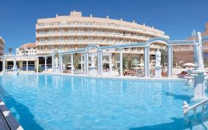 The swimming pool at or near Hotel Cleopatra Palace