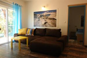 A seating area at Quercus Apartment