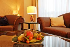Гостиная зона в Hotel Ratswaage