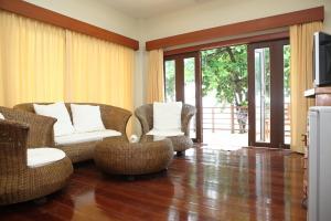 Et opholdsområde på Phangka Paradise Resort