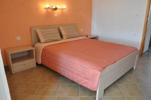 Un ou plusieurs lits dans un hébergement de l'établissement Villa Annilena