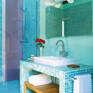 Een badkamer bij Finca La Salud