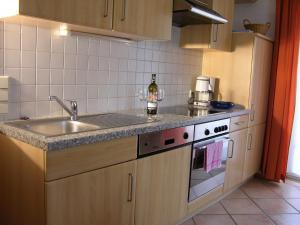 Küche/Küchenzeile in der Unterkunft Appartement Millennium