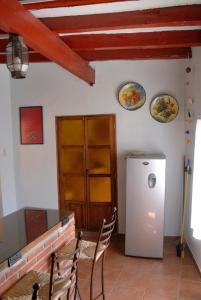 Una televisión o centro de entretenimiento en La Capilla