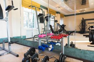 The fitness center and/or fitness facilities at Sanatoriy Tsentrosoyuz Kislovodsk