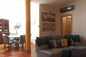 Area soggiorno di casa giovanna