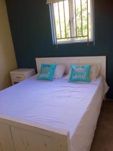 Cama ou camas em um quarto em Apartment Azulita Resort