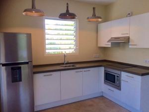 A cozinha ou cozinha compacta de Apartment Azulita Resort