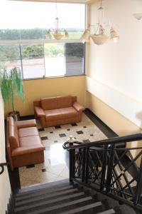 A seating area at Hotel Primavera