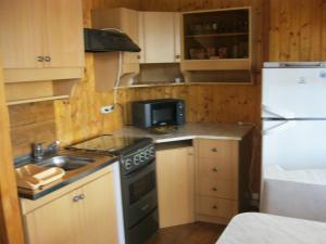 """Кухня или мини-кухня в Dom-cottage """"Prohlada"""""""