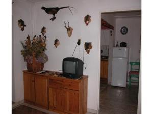 Telewizja i/lub zestaw kina domowego w obiekcie Holiday home Szczytno Piece