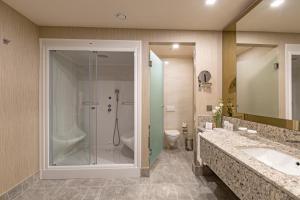 Een badkamer bij Royal Seginus