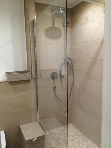 Ein Badezimmer in der Unterkunft Appartement St. Barbara