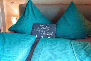 Ein Bett oder Betten in einem Zimmer der Unterkunft Appartement St. Barbara