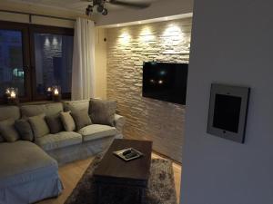 TV/Unterhaltungsangebot in der Unterkunft Appartement St. Barbara