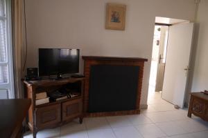 Télévision ou salle de divertissement dans l'établissement A Cittadella