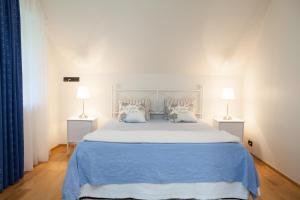 Voodi või voodid majutusasutuse Toila Valgevilla Apartments toas