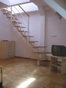 Telewizja i/lub zestaw kina domowego w obiekcie Hostel Nuove Frontiere