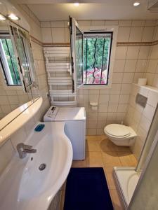 Salle de bains dans l'établissement Bella Vista