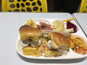 民宿或附近的食物