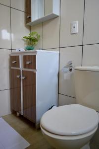 A bathroom at Hotel Consalter
