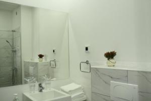 Ванная комната в Hotel Danica