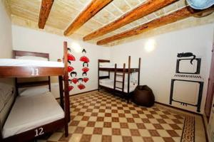 A bunk bed or bunk beds in a room at Vallettastay Hostel Accommodations
