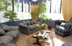 Zona de estar de Hotel Isla Rey Jorge