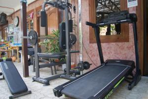Фитнес-центр и/или тренажеры в Отель Арго