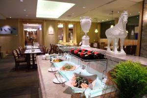 翰品酒店 - 花蓮餐廳或用餐的地方