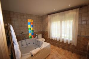 Een badkamer bij El Canto La Gallina