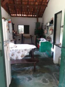 Uma área de estar em São Sebastião do Sertão