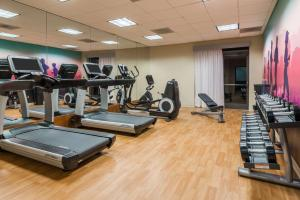 The fitness center and/or fitness facilities at Hyatt Place Atlanta Duluth Johns Creek