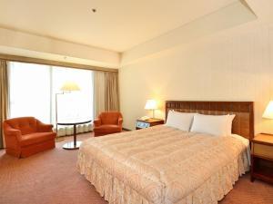 濱松格蘭飯店房間的床