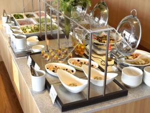 濱松格蘭飯店供旅客選擇的早餐選項